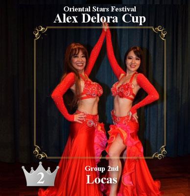 【ベリーダンス コンペティション】グループ 2nd Locas