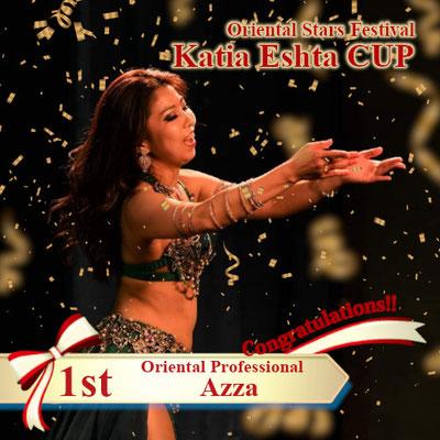 【Katia Eshta Cup】Oriental Professional 1st : Azza