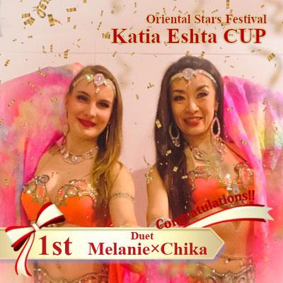 【Katia Eshta Cup】Duo 1st:Melanie×Chika