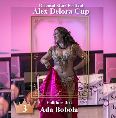 【ベリーダンス コンペティション】フォークロア 3rd Ada Bobola