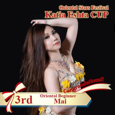 【Katia Eshta Cup】Oriental Beginner 3rd:Mai