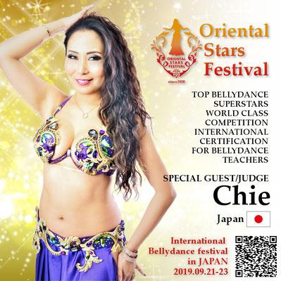 【Oriental Stars Festival】Chie bellydance