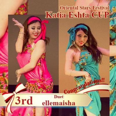 【Katia Eshta Cup】Duo 3rd:ellemaisha