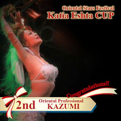 【Katia Eshta Cup】Oriental Professional 2nd : KAZUMI