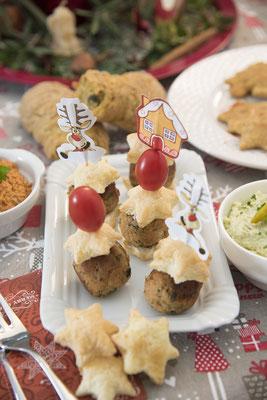 Weihnachtliche Keftedakia