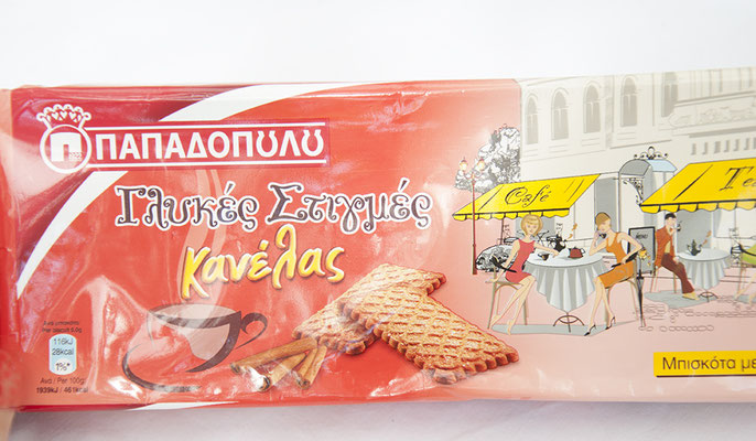 Vegane Kekse mit Zimtgeschmack