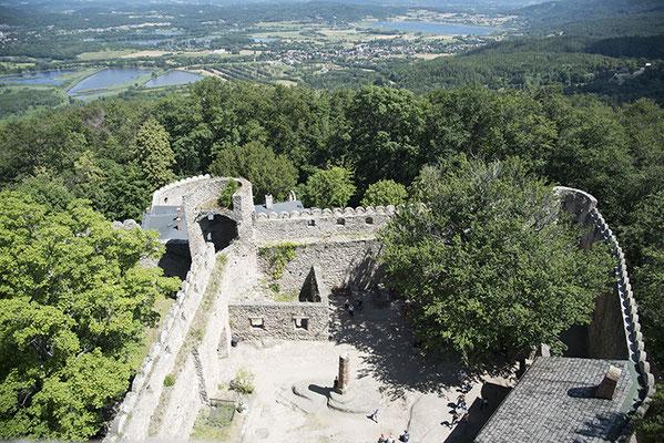 Kynastburg in der Nähe von Jelenia Góra