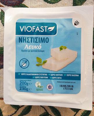 Viofast weisser Käse, der Feta vom Geschmack recht nahe kommt.