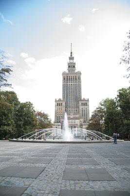 Kulturpalast/ Warschau