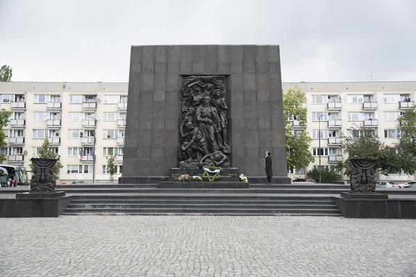 Warschauer Ghetto-Ehrenmal