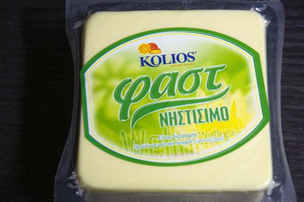 Veganer Fastenkäse von Kolios.