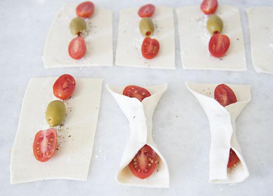 Olivenschleifen vegan