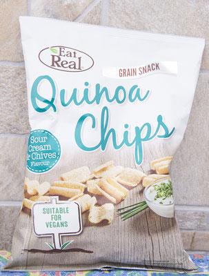 Vegane Quinoa Chips mit Sour Creme, gefunden bei Sklavenitis