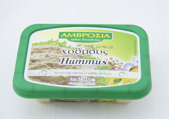 Hummus mit Knoblauchnote
