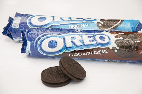 Oreo Kekse mit Schokolade