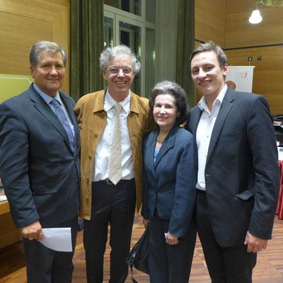 Marta Casals Istomin, Prof. Julius Berger, Prof. Csaba Onczay