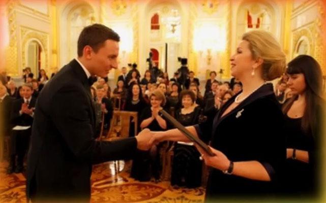 First Lady of Russia Svetlana Medvedeva