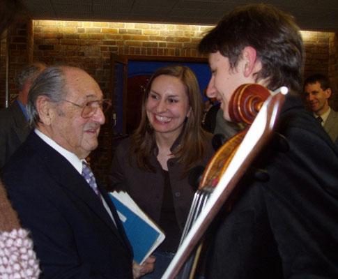 Maestro Bernard Greenhouse