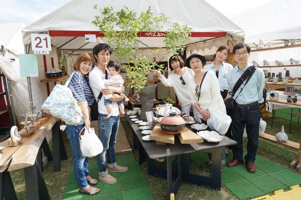 成田から渋滞の中 赤ちゃんを連れて三世代で遊びに来てくれました。赤ちゃんの泣き声も 皆の話し声も 笑い声も、心地よくて幸せ。