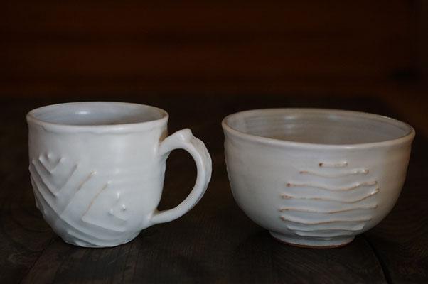 仲本律子 陶芸家 笠間焼き 土鍋 スープボール マグカップ