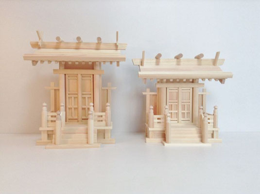 神明一社(唐戸)を小さくカスタマイズ