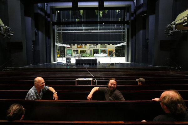 Clair Brothers Klangvergleich im Haus für Mozart Salzburg