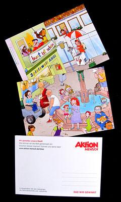Aktion Mensch, Aktionstag 5. Mai 2017, Postkarten