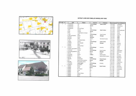 Maison n°2, n°4 et n°6 rue des Tilleuls (Ancien n° 7, n° 8 et n° 9)
