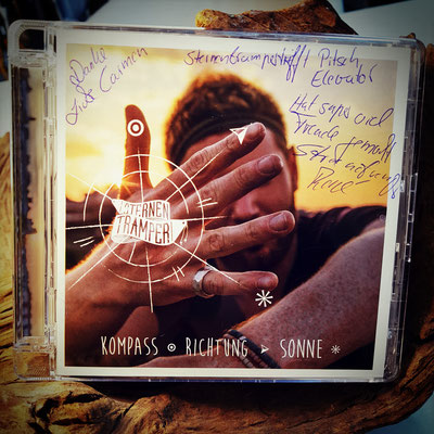 Singer Songwriter Sternentramper Musik CD - Kompass Richtung Sonne