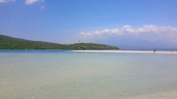 Plage de Menjangan, site de plongée de Garden Eel.