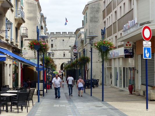 Rue piétonne - Centre-ville de Verdun