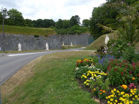 Les statues de la citadelle de Verdun