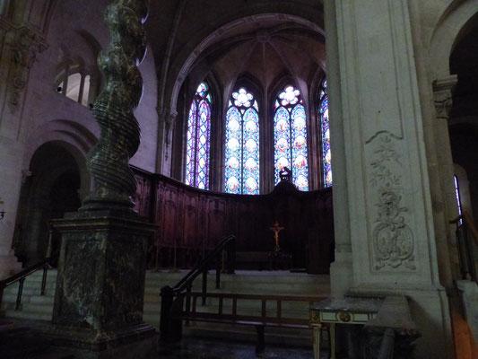 Le chœur de la cathédrale de Verdun