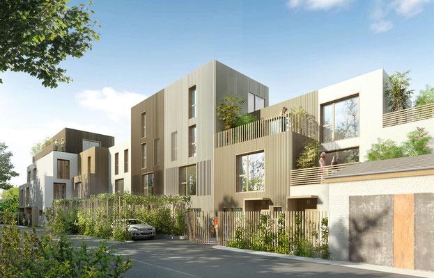 Maison neuve de charme vendre courbevoie maisons for Acheter maison courbevoie