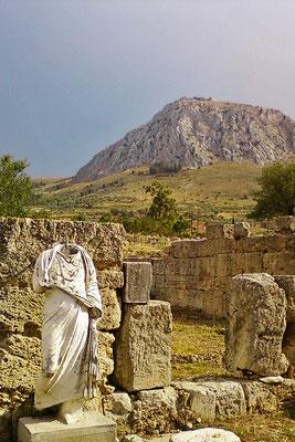 Ruinenstätte Korinth