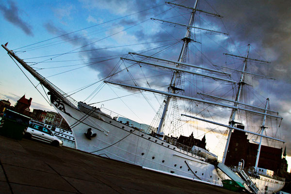 """Gorch Fock"" - Hansestadt Stralsund, August 2014"