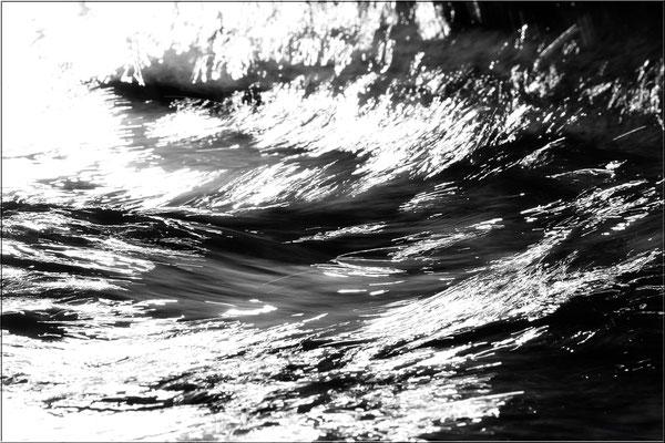 """Reißender Fluss"" - Erzgebirge, April 2012"