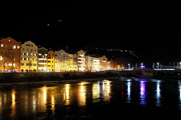 Inn-Ufer kurz vor Silvester, Österreich