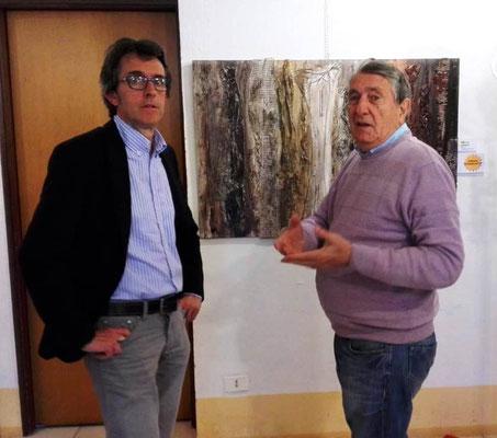 Con il critico Giorgio Righetti