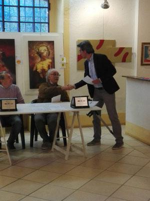 Con Alessandro Binotti  Curatore La Riseria