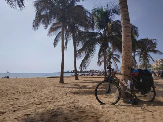 In Lanzarote angekommen (Arrecife)