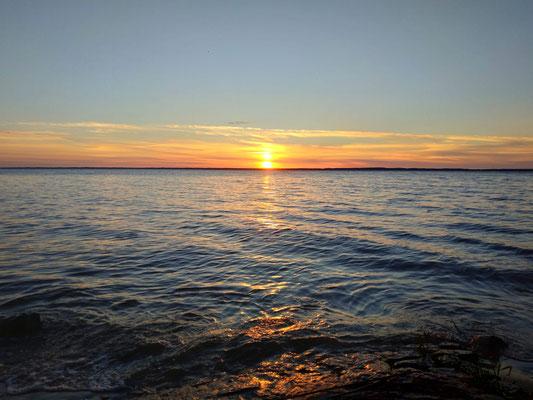 An der Ostsee angekommen