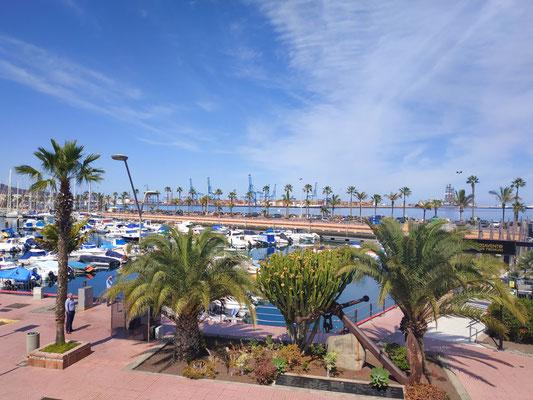Der Hafen in Las Palmas