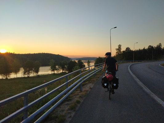 Seen und Wälder in Finnland