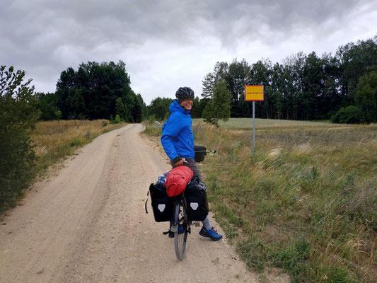 Auf dem holprigen Feldweg von Polen nach Litauen
