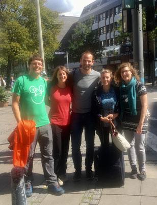 Wiedersehen in Hamburg mit alten Freunden :-)