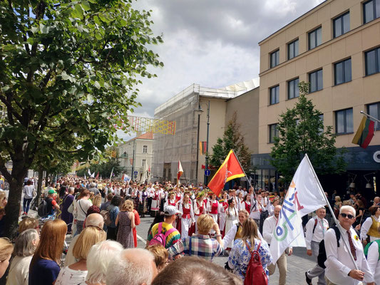 Song and Dance Festival in Vilnius