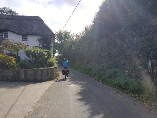 Radfahren auf der linken Straßenseite... etwas gewöhnungsbedürftig :-)