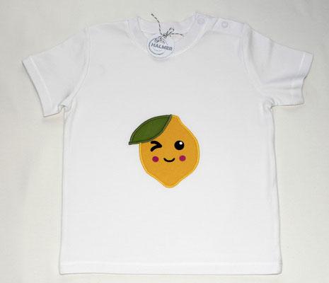 Baby-Shirt Zitrone