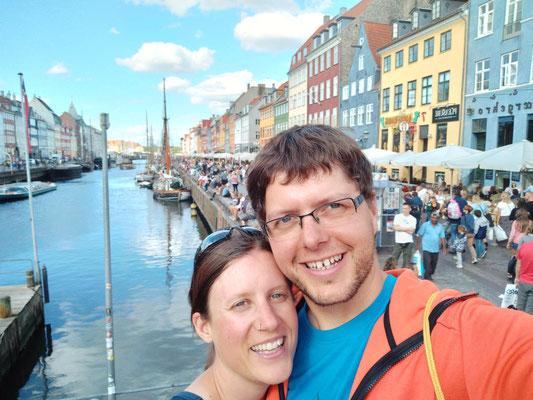 Die Radler in Kopenhagen :-)